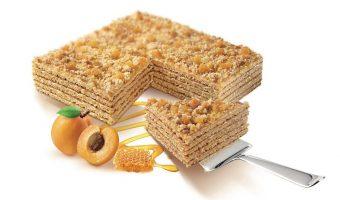 Tort cu miere si caise 800g - Marlenka